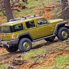 Never went into production, Jeep Rescue