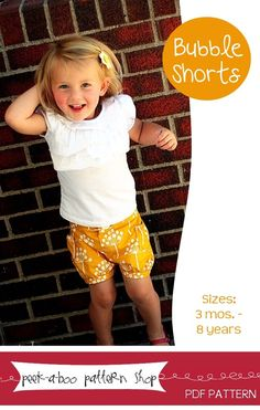 Image of Bubble Shorts: 3 mos. - 8 Years