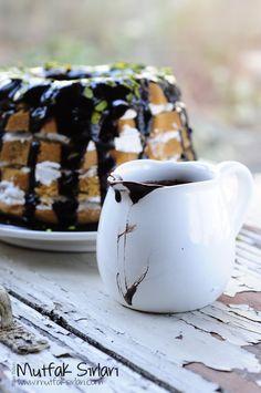 Damla Sakızlı Kek Pasta yapmasam da böyle bir şey yapacağım!