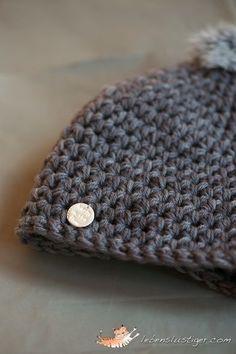 Half-Double Crochet Beanie Tutorial (adult size)