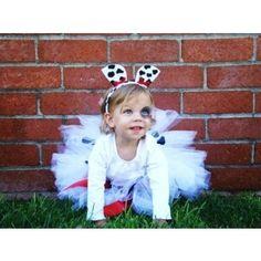 Dalmatian tutu costume - kids