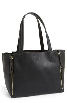 BP. Expandable Zip Tote (Juniors) | Nordstrom (but i want real leather)