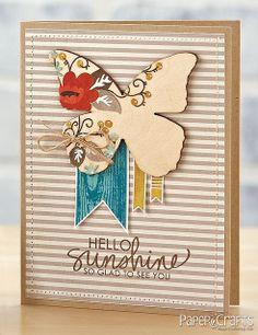 Sunshine & Butterflies Card by @Jaclyn Booton Booton Miller