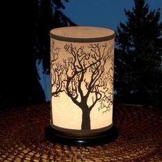 Shoji Candle Lantern (Tree). $28.00, via Etsy.