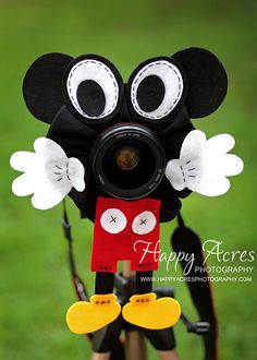 Lens Bling  Mickey Mouse by HappyAcresFarm on Etsy, $25.00