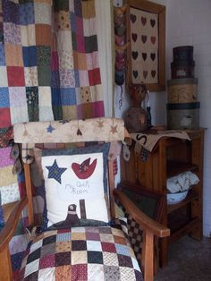 Tiki Brophy;  My Quilt Room