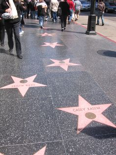 Hollywood, CA - Walk of Fame
