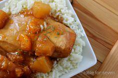 {Crock Pot} Hawaiian Chicken