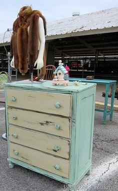 Painted Furniture Ideas, Nashville Flea Market, Petticoat Junktion