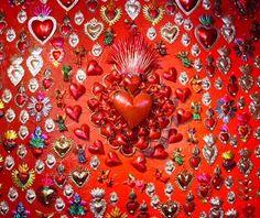 Mexican tin ornaments.