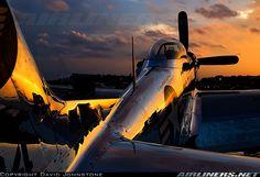 Beautiful P-51 at Sunrise