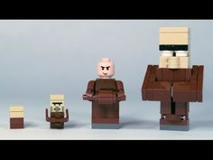 How To Build: LEGO Minecraft Villagers - YouTube