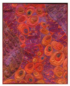 BiodiversityII: Karen Kamenetzky Art Quilt