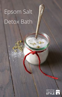 DIY: Epsom salt detox bath