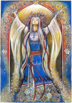 Vesna - Slavic goddess of spring, birth and renewal.