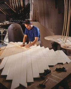 the makings of a steinway piano.