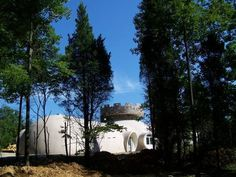 Eagle's Eye — This Monolithic Dome home looks like a medieval castle, but it was designed and built with 21st century technology.