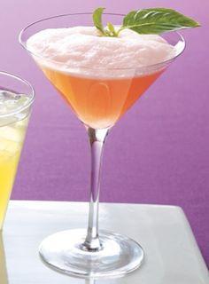 Pink Basil Rising #Mocktail