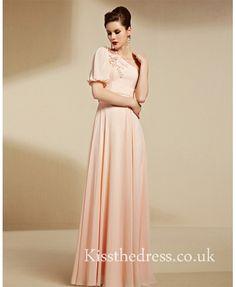 pink prom dress - Ki