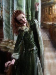 Beautiful medieval dress.