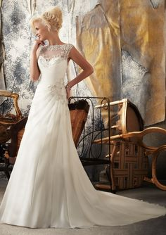 In the running for sure! Mori Lee!