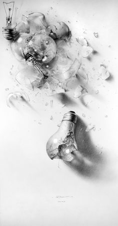 Shadow Play II, Pencil, by Armin Mersmann