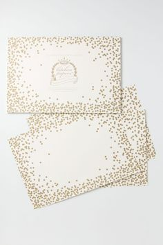 Confetti Paper Placemats - Anthropologie.com