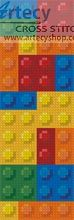 """legos"" bookmark free chart"