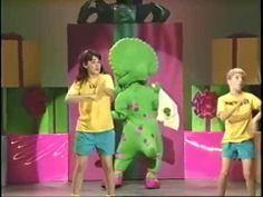 barney the backyard gang barney in concert 1991 episode 7