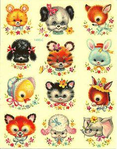 Vintage decals