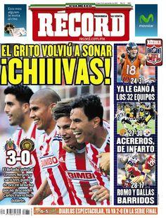 México y Guadalajara 8 septiembre del 2014 - RÉCORD