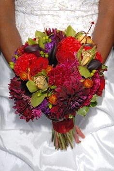 rich color, idea, fall flowers, red, fall bouquets, purple flowers, colors, flower photos, floral bouquets