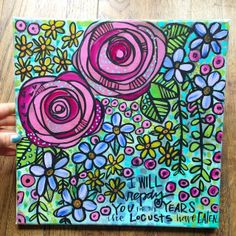rose, doodl, flower