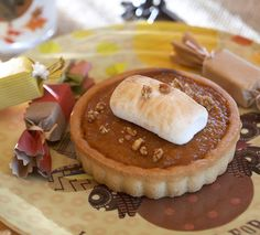A yummy fall Pumpkin Tart!