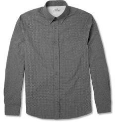 AcneIsherwood Dot-Print Cotton Shirt|MR PORTER
