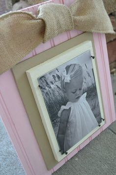 very cute picture frame