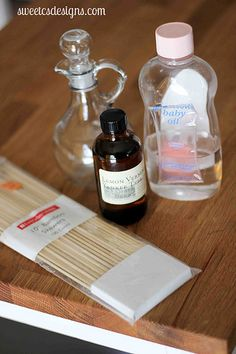 {Give Great Gifts} Make Your Own Reed Diffuser