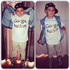 #GoogleAutism shirts available at www.MyLoveForAutism.com