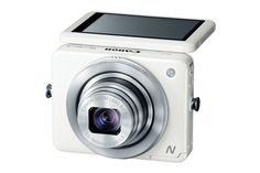 PowerShot N White by Canon: Pocket sized point and shoot with built in WiFi! #Camera #WiFi