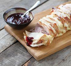 Monte Cristo Pull Apart Bread