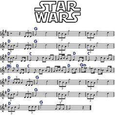 Partituras de Violino: Música de temas de filmes