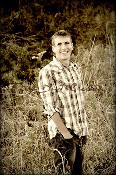 Senior picture boy