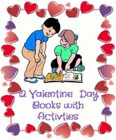 12 valentine books for children with activities