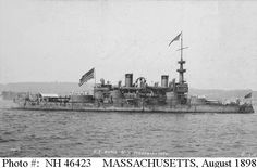 USS Massachusetts BB-2