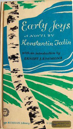 By George Salter, 1 9 6 0, Early Joys by Konstantin Fedin.