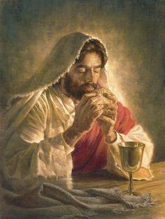 """Jesus said to them, """"I am the bread of life; whoever comes to me will never hunger, and whoever believes in me will never thirst."""" ~ John 6:35"""