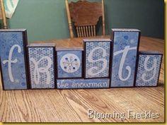 Reversible Wood Block Decoration