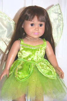 American Girl doll sized Tinkerbell!