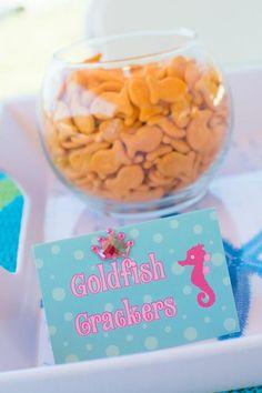 mermaid party paper goods | Mermaid Princess Party via Kara's Party Ideas #mermaid #party # ...