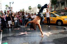 Hollywood! Walk of Fame.